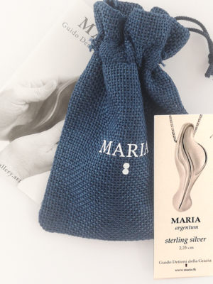 certificate-of-the-artwork-maria-argentum-necklace-0.9-inches-and-fabric-bag-blue-color