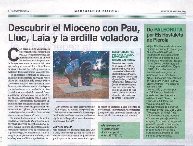 Published in La Vanguardia